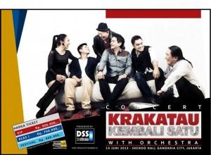Grup Musik Legendaris Krakatau Akan Tampil Lagi
