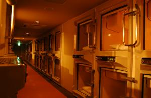 Hotel Kapsul di Jepang. Photo kredit simonhn